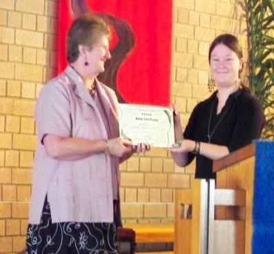 Springwood Uniting Church Five Leaf Eco-Award Presentation