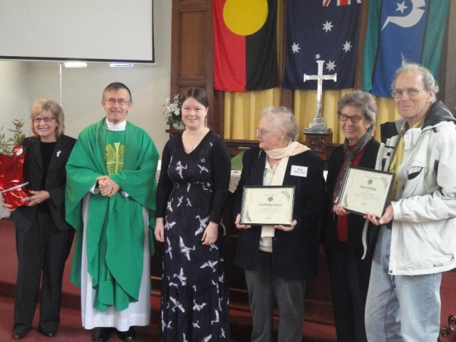 St Luke's Anglican Parish Maylands Five Leaf Eco Award Presentation low res